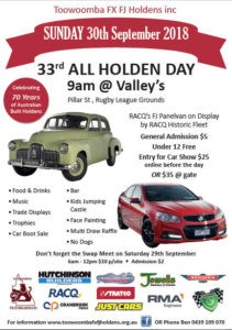 Toowoomba All Holden Day 2018 @ Valleys Rugby League Grounds | Middle Ridge | Queensland | Australia